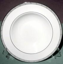 "Gorham Gatehouse Platinum 8"" Soup Pasta Bowl Retail $50 New - $19.90"