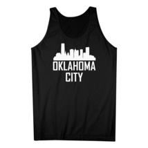 Oklahoma City OK Skyline Silhouette Cityscape Tank Top - €15,80 EUR+