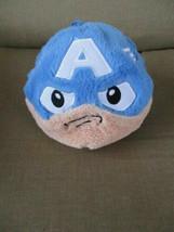 """Marvel Avengers Assemble Fuzzbies Captain America 5"""" Plush Covered Ball-Hanger - $10.51"""