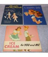 Children's Books National Dairy Council Winifred Randell Metropolitan L... - $10.95