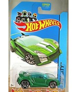 2014 Hot Wheels #32 HW City-Speed Team QUICK N' SIK Green Variant w/Chrome OH5Sp - €6,92 EUR
