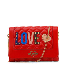 Love Moschino Red Clutch with logo - $208.56 CAD
