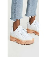 NEW IN BOX Fila Disruptor II Brights Fade White Rose Gold Chunky Dad Sho... - $74.05