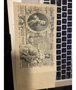1912 RUSSIA PAPER MONEY - 500 RUBLES LARGE SIZE BANKNOTE! - $99.00