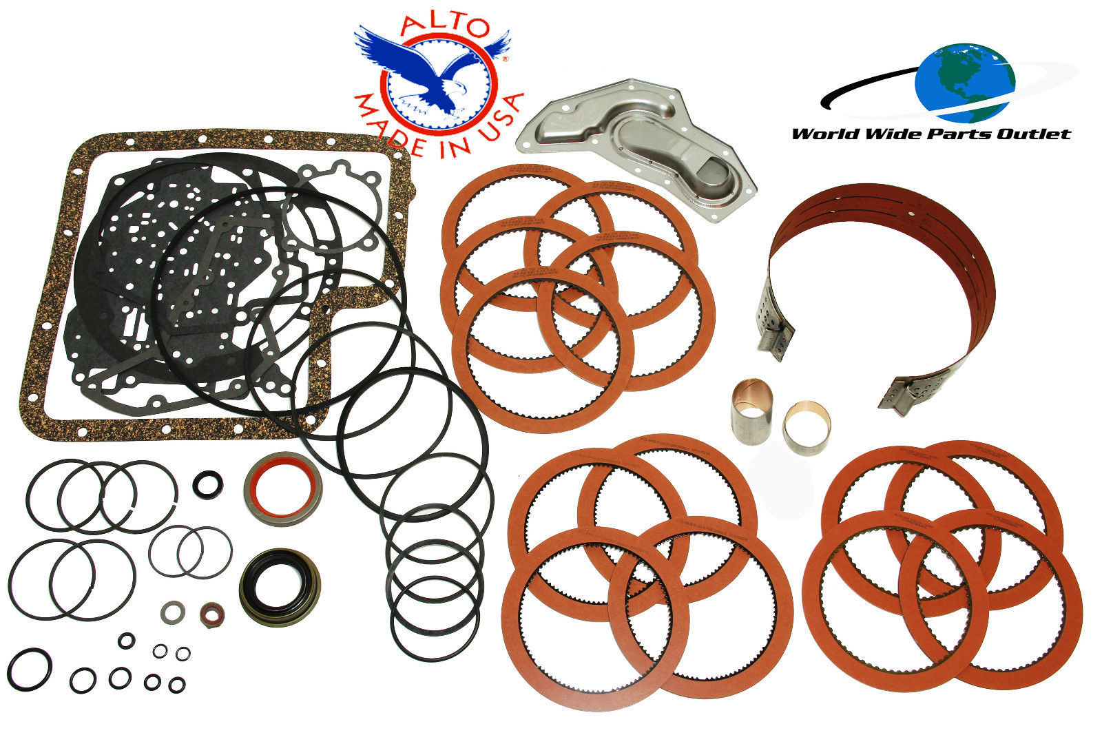 Ford C6 Rebuild Kit High Performance LS Kit Stage 2 Alto Red 1976-1996 - $140.33