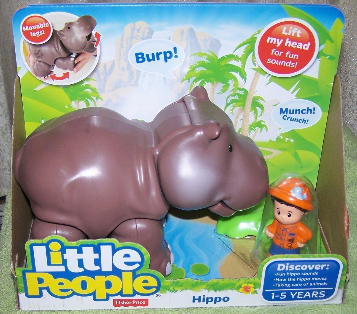 Fisher Price Little People Hippo & Zookeeper and 21 similar