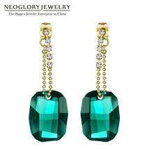 Neoglory Made With SWAROVSKI Elements Crystal Big Chandelier Drop Earrin... - $28.19