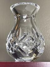"Vintage Waterford Crystal Posy 3.75"" Vase Acid Etched MINT Original Stic... - $26.50"
