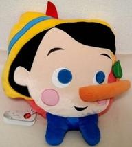 Disney store Japan limited edition Pinocchio cushion pillow Pinocchio ad... - $62.37