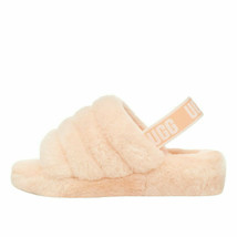 UGG Fluff Yeah Slide Scallop Women's Sheepskin Slipper Sandals 1095119 - $91.00