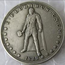Rare New Hobo Nickel 1888 Dollar Thor God  Marvel Superhero Disney Caste... - $11.99