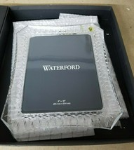 Waterford Lismore Crystal Photo Picture Frame 8x10 - $113.85