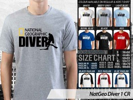 NEW T shirt National Geographic Diver Master Many Color & Design Option - $10.99+