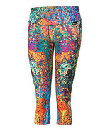 Active Fit Mosaic Capri Leggings in Size Large NWT - $28.00