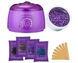 Yeelen Hair Removal Kit Hot Wax Warmer Waxing Kit Wax Melts with 4 Flavors Ha...