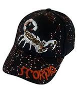 Zodiac Horoscope Sign Adult Size Adjustable Baseball Caps (Scorpio) - $13.95
