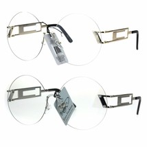 Clear Lens Round Shield Retro Circle Lens Hippie Eye Glasses - $12.95