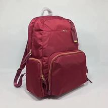 Brand New Tumi Voyageur Calais Backpack Navy Red - $350.00