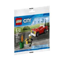 LEGO City Fire Car Building (30347) 53 Pcs Bagged New - $6.74