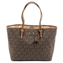 Brown ONE SIZE Michael Kors Womens Handbag JET SET TRAVEL 35F6GTVT3B BROWN - $262.93