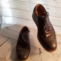 Men's Cole Haan C12088 Lunarlon Lunargrand Wingtip Shoes Size 7.5M Blue - $75.00