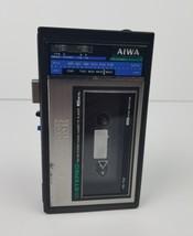 AIWA HS-T02 Cassette Player Walkman Portable Radio Vintage For parts or ... - $92.57
