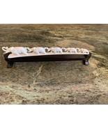5 Elephants Detailed Carving Family Elephants of shed Antler Figurine fr... - $125.00
