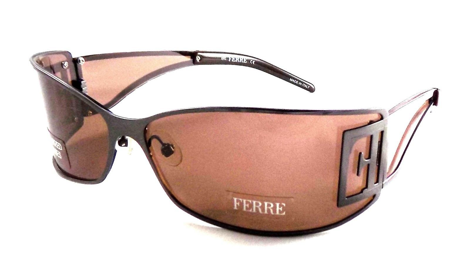 Gianfranco Ferre GF 76704 POLARIZED Sunglasses 67x15x115 Brown / Brown ITALY