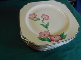 Outstanding Vintage RARE Dinnerware..MUST SEE Unmarked- .Yellow 8 DINNER... - $46.84