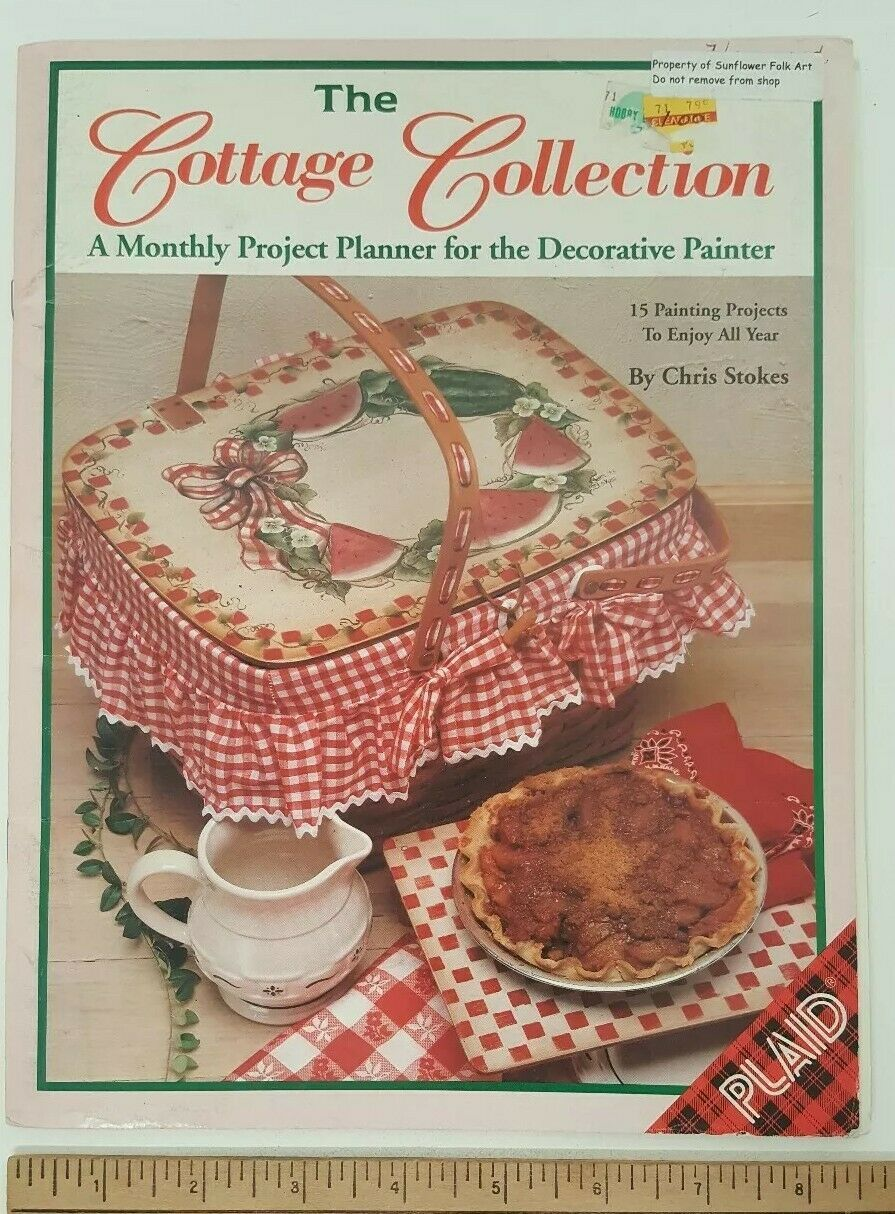 Cottage Collection Book Monthly Project Planner Decorative Painter Tole Painting