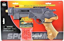 Sportsman 45 Eagle Toy Gun Comes with 20 Soft rubber Ammo - $23.36