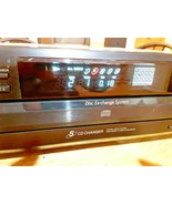Sony - CDP-CE215 - 5 Disc CD Changer/Player for parts or repair - $49.49