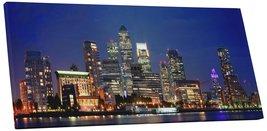 "Pingo World 0824QGMT5ZA ""London UK Canary Wharf Skyline Panoramic"" Galle... - $158.35"