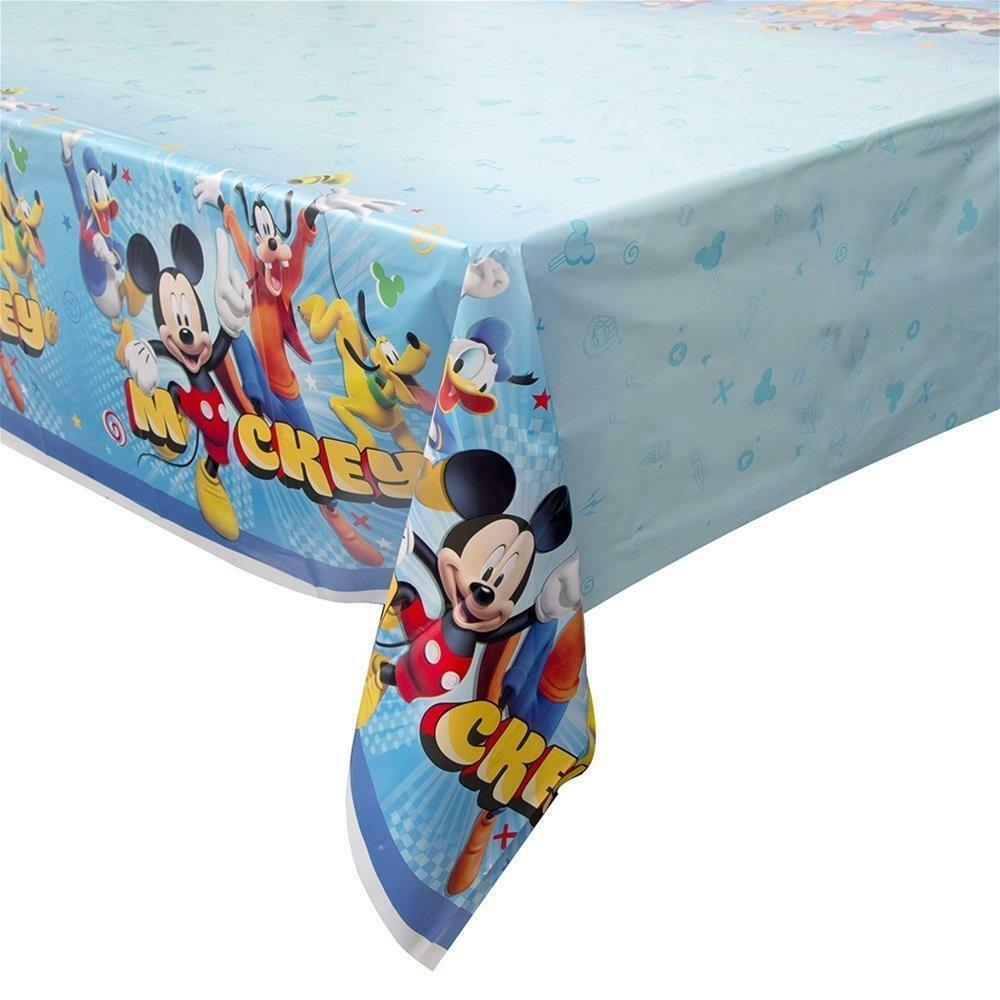 Mickey and The Roadster Racers Plastic Table Cover 1 Ct Birthday Party Supplies