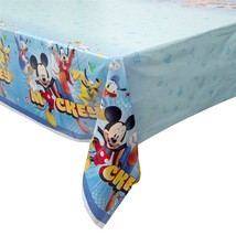 Mickey and The Roadster Racers Plastic Table Cover 1 Ct Birthday Party S... - $5.89