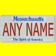 1/43-1/5 scale custom license plates any brand RC/model car - Massachuse... - $11.00