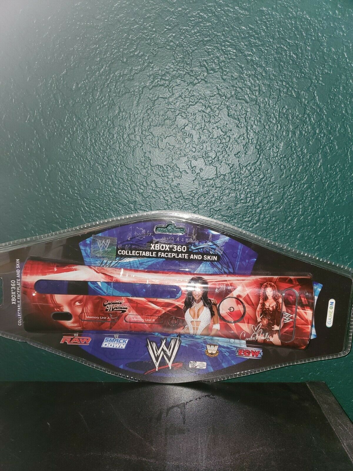Xbox 360 Wwe Collectable Faceplate And Skin Candice Michelle - $26.13