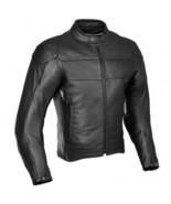 QASTAN Men's New Superb Black Motorbike CE Protectors Leather Jacket QMMJ24 - $159.20+