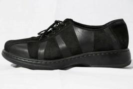 Dansko Black Suede Sneaker Comfort Walking Shoe Women's Sz US 10.5-11 / EUR 41 - $49.45