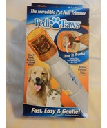PediPaws : The Incredible Pet Nail Trimmer for cats and dogs - $25.99