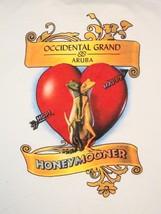 Occidental Grand Honeymooner Honeymoon Aruba Wedding Tourist T Shirt L - $17.66