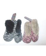 Hot Steps Womens Slippers Booties Non Slip 2 Co... - $7.99
