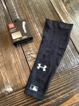 Under Armour Mens MLB Baseball Knit Sleeve Black L/XL Large / Extra Large - $14.85