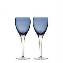 Waterford W Collection Sky Wine Goblet Pair Crystal New # 40030963 - $227.70