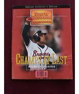 1995 Braves Champs at Last Sports Illustrated Collectors Edition Justice... - $19.79