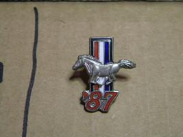 1987 MUSTANG    hat pins lapel pins  ford mustang pony  - $7.95