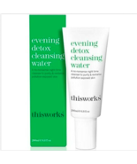 This Works Evening Detox Cleansing Water Full Size 6.8 Oz New in Box 200ml - $19.79
