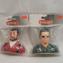 Hanger 9 HAN9120 & HAN9121 1/5 Sc Pilots Civilians Green Glasses/ Red Beard - $18.90