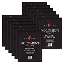 MCS 8.5x11 Inch Format Frame 12-Pack, Black (65640) - $40.96