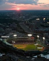 MLB Boston Red Sox Aerial View Fenway Park at Night Color 8 X 10 Photo F... - $8.99